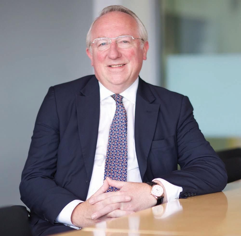 presidente de la Convención Mundial para el Mercado Libre, Graham Mather