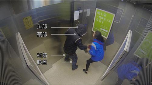 模拟电梯内抢劫场景