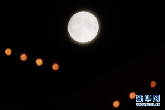 Final supermoon of the year spotted in the skies over China