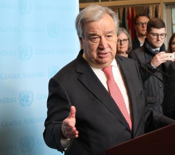 Guterres afirma que China aporta las condiciones para el desarrollo mundial