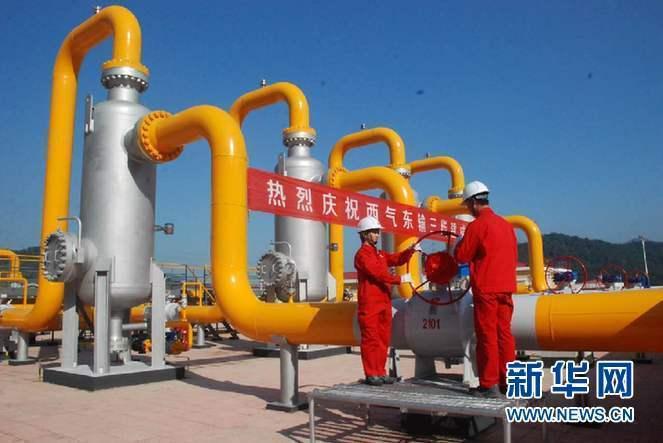 В Китае запущен в эксплуатацию восточный участок третьей ветки транскитайского газопровода