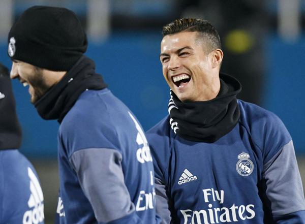 Fútbol: El Real Madrid prepara su semifinal ante el Club América