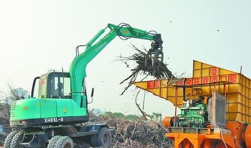 碎树树枝嚼碎神器变废为宝_厦门广电网舞蹈军营视频图片