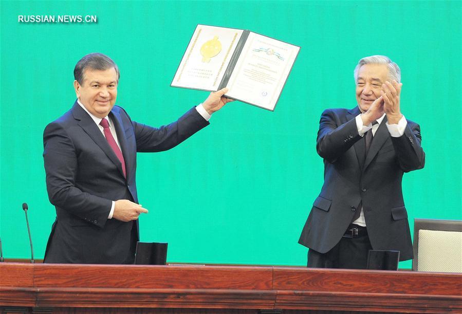 Шавкат Мирзиеев принял торжественную присягу на верность народу Узбекистана