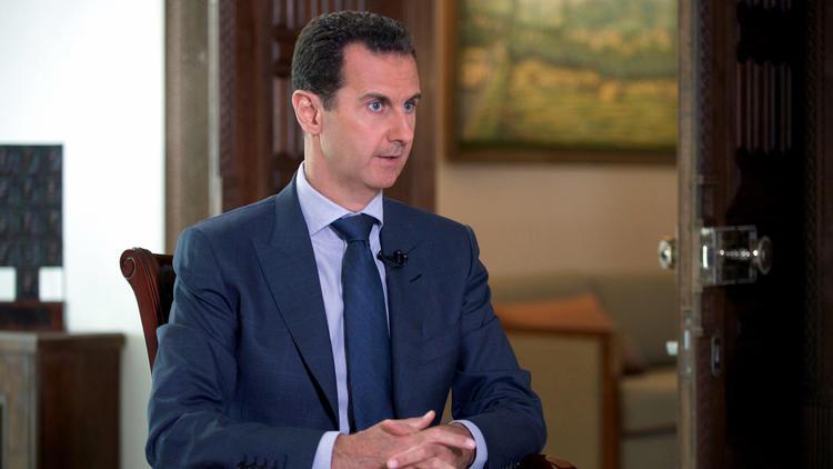 """Assad :""""Les pays occidentaux veulent maintenir les terroristes à Alep"""""""
