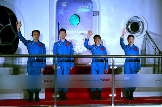 Concluye la simulación espacial de 180 días de China