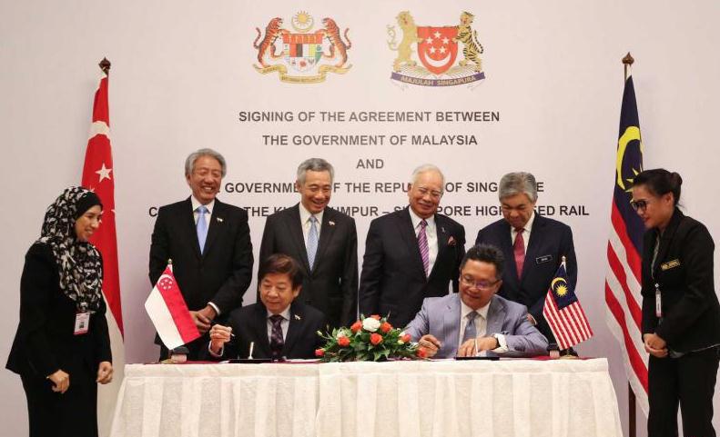 Malasia y Singapur proyectan construir un tren bala conjunto
