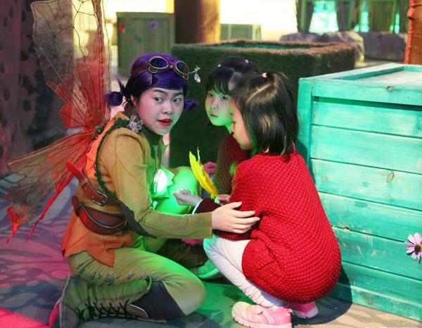 """""""La isla de aventuras de Peter Pan"""" se estrena en Beijing"""