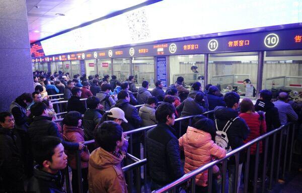 За полтора месяца до Праздника Весны в Китае начались онлайн-продажи ж/д билетов