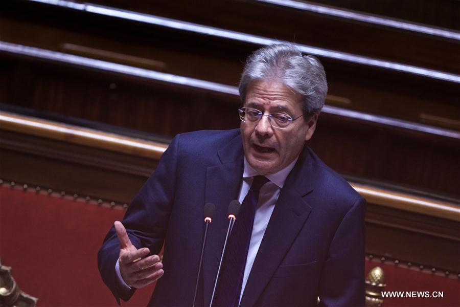 Second vote de confiance pour Gentiloni