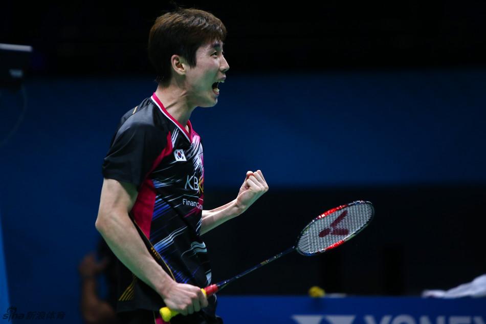Badminton: Son Wan Ho continúa con su racha de triunfos