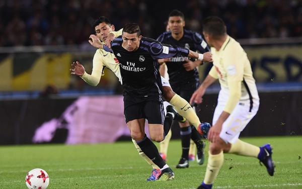 Fútbol: El Real Madrid vence al Club América por 2-0 y logra así el pase a la final