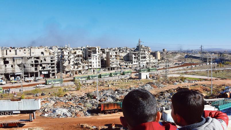50 mille personnes sont toujours coincées à Alep-Est