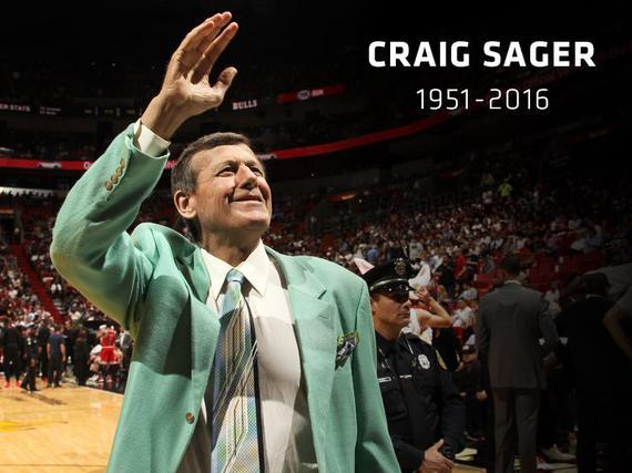 Colorful sports broadcaster Craig Sager passes away at 65