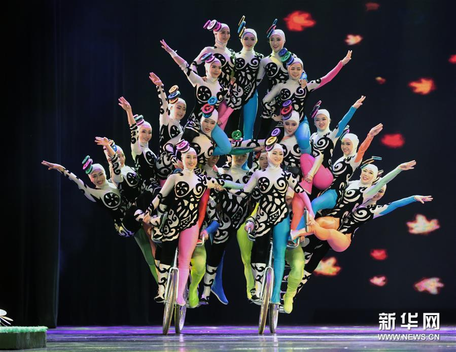 The third Chinese Acrobatics Art Festival has kicked off in the city of Luoyang.