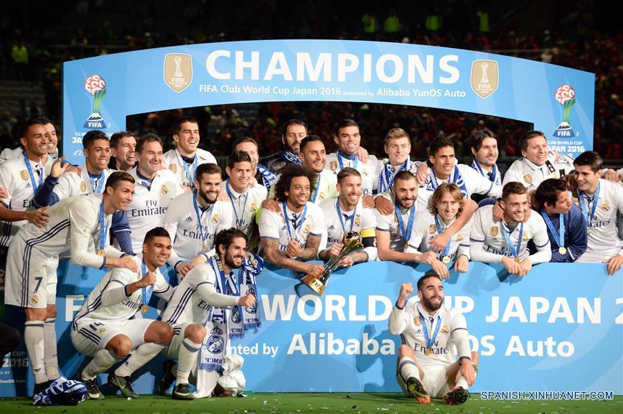 Real Madrid gana Copa Mundial de Clubes Japón 2016
