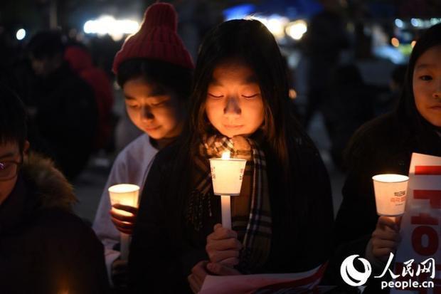 Park se maintient à la présidence malgré les protestations