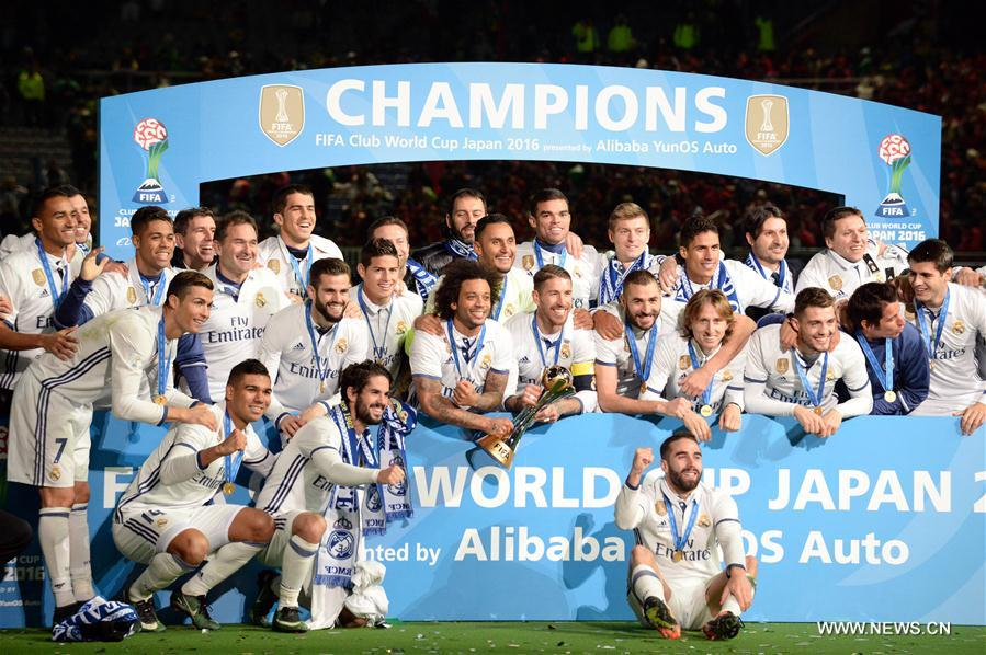 Ronaldo S Hat Trick Inspires Real Madrid To Win Club World Cup