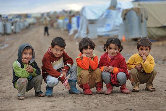 Les réfugiés du camp de Hassam se rappellent leurs difficiles expériences