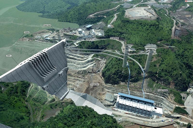 La centrale hydroélectrique génèrera près de 1900 mégawatts