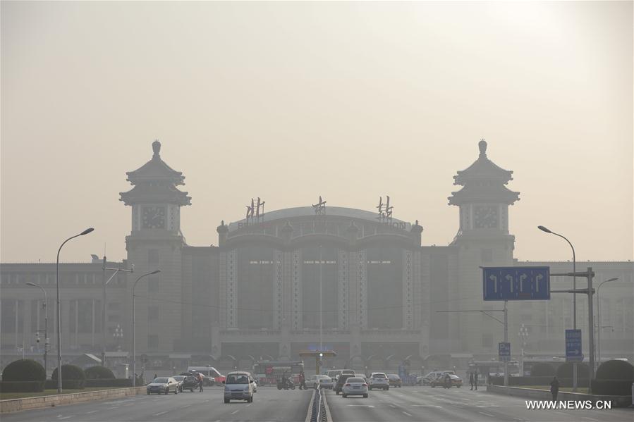 Esmog cubre el norte de China