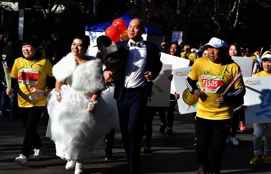 В китайском Куньмине состоялся марафон в честь 15-летия ШОС