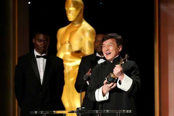 Jackie Chan wins honorary Oscar