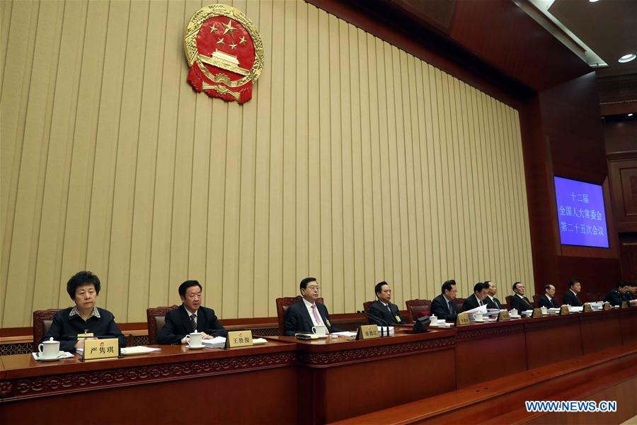 Asamblea Popular Nacional de China comienza su sesión bimestral