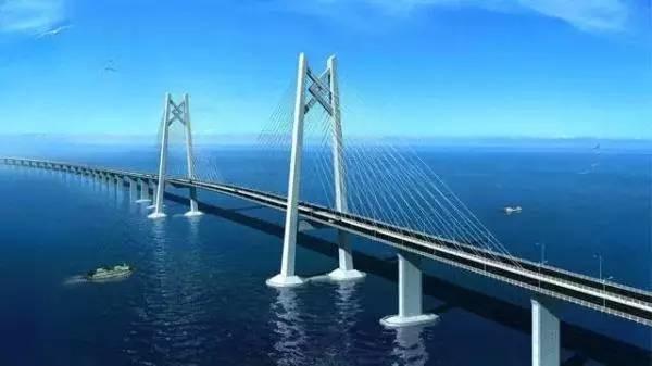 Мост между Сянганом, Чжухаем и Аомэнем заасфальтируют к апрелю 2017 г.