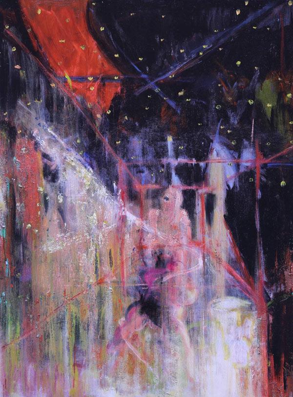 作品名称:《群体利益》 作        者:杜宝印  创作年代:2016   材        料:布面油画 尺        寸:160cmx120cm