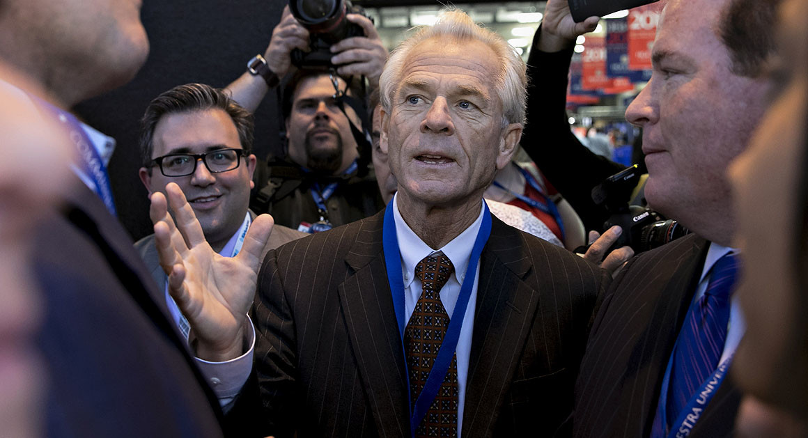 Peter Navarro has long been a critic of China and its trade relationship with the United States. | Getty