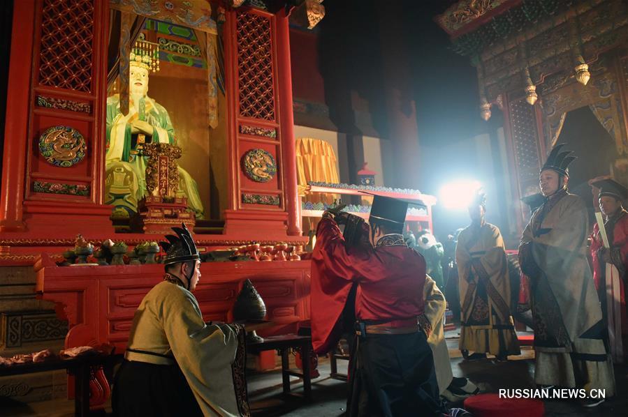 В Китае прошла церемония в память о древнем мыслителе Мэн-цзы