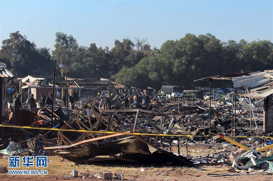 Al menos 32 muertos tras explosión en mercado de pirotecnia