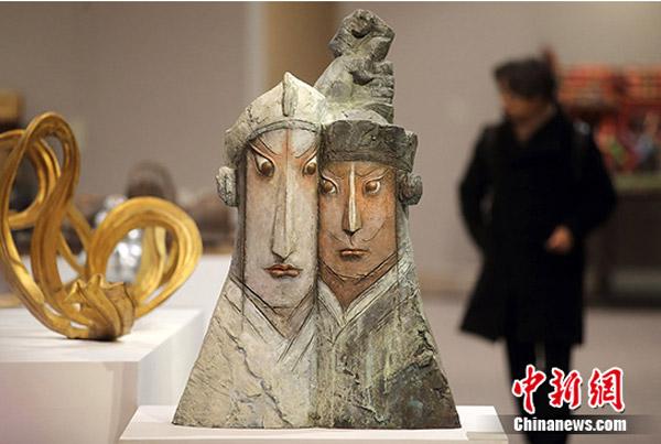 La Exhibición Juvenil de Esculturas de China arranca en Nanjing