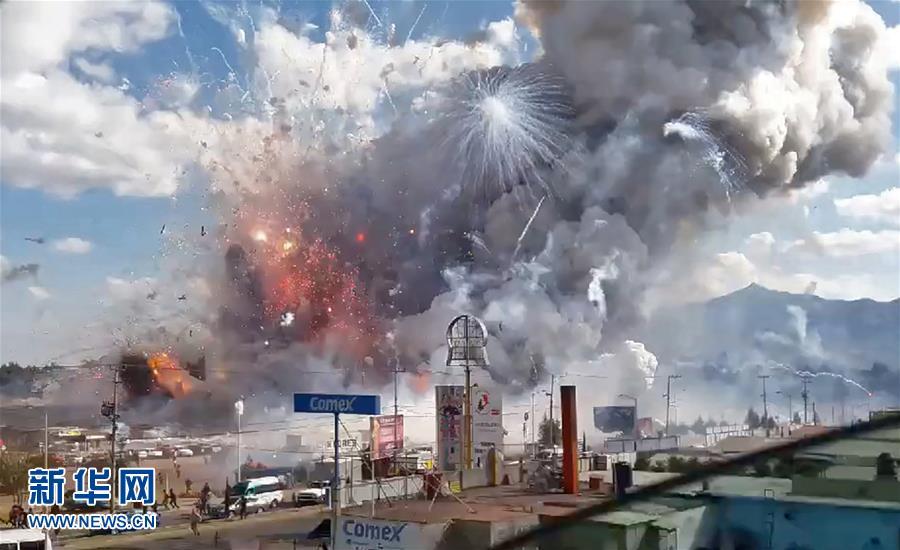 Al menos 33 muertos tras explosión en mercado de pirotecnia