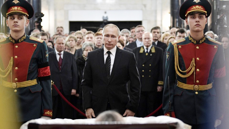Russian President Vladimir Putin has attended the memorial service for an envoy who was shot dead in the Turkish capital, Ankara by an off-duty policeman. Mourners gathered at the foreign ministry building in Moscow, where the memorial was being held amid heightened security.