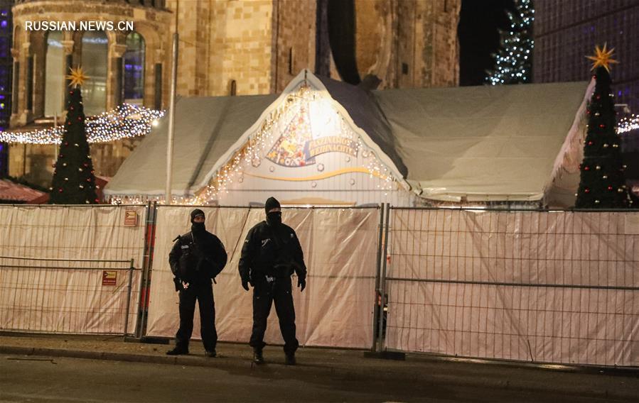 В совершении теракта на рождественской ярмарке в Берлине подозревается тунисец