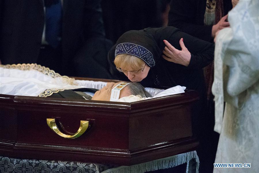 Rusia conmemora con todos los honores los restos del embajador en Turquía que fue asesinado