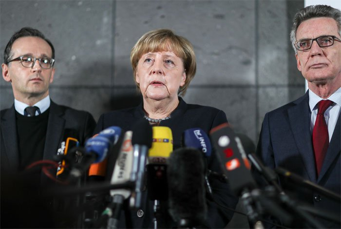 Merkel, orgullosa de la serena respuesta de los alemanes