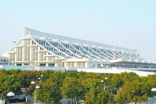 高崎机场候机楼。