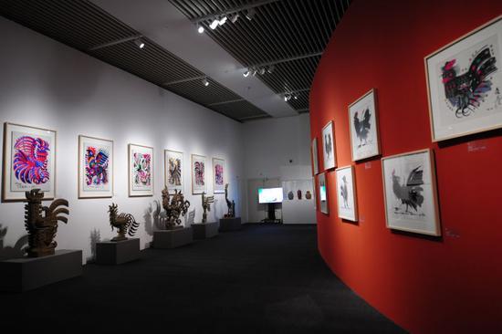 El Museo Nacional de China acoge una exhibición del renombrado artista chino