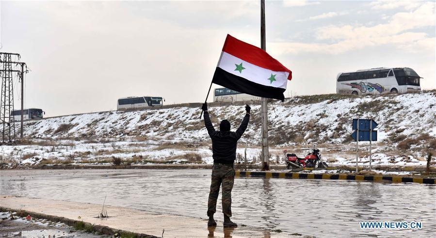 L'armée syrienne a repris la ville d'Alep — Syrie
