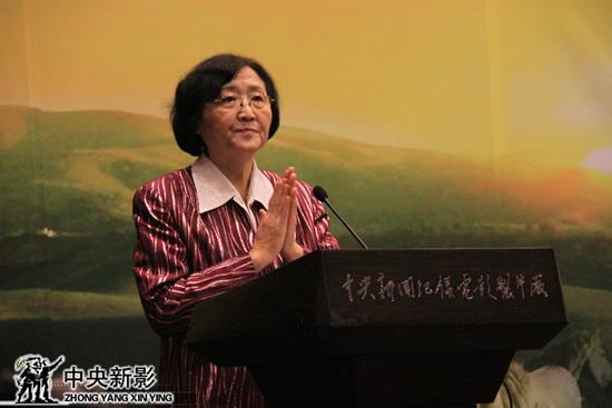 原国家副主席乌兰夫同志家属代表、内蒙古自治区党委第三巡视组组长石梅