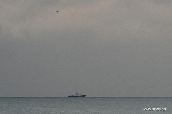 العثور على حطام الطائرة الروسية المفقودة في البحر الاسود