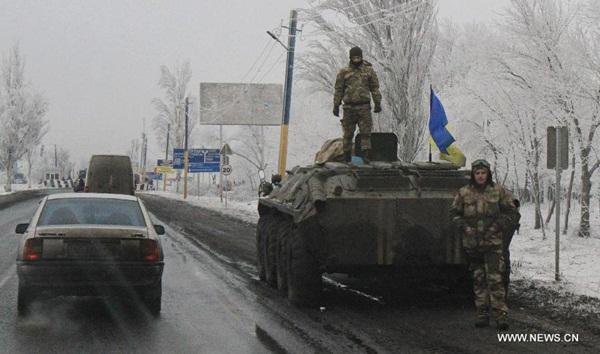 هدوء نسبي شرق اوكرانيا بعد وقف اطلاق النار