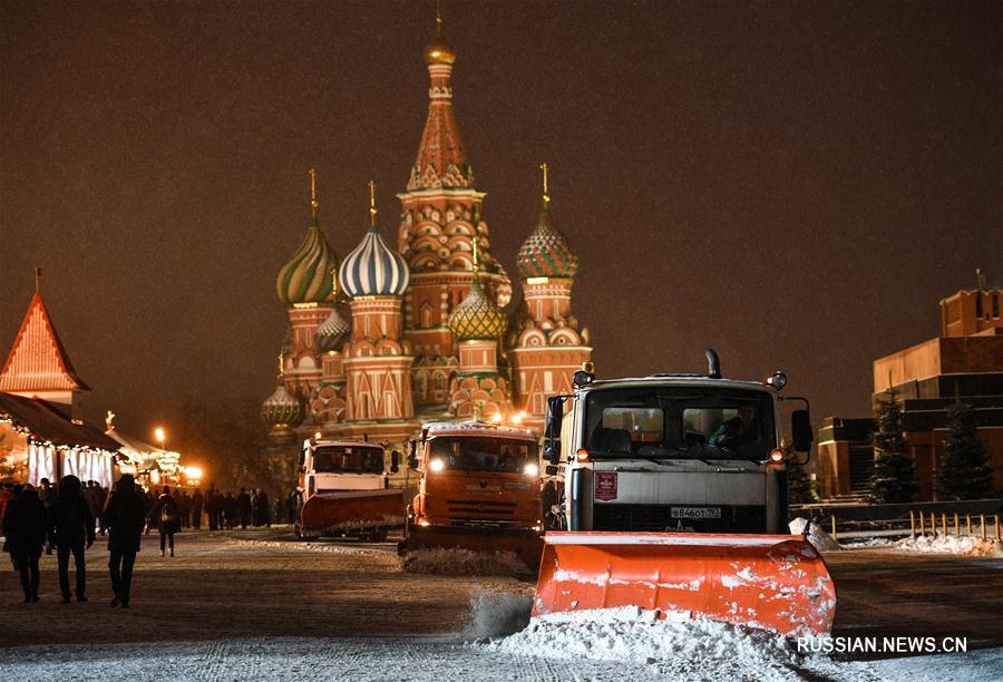 Большество россиян любят зиму