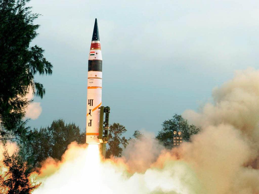 El lanzamiento de la cuarta prueba de Agni-V es exitoso
