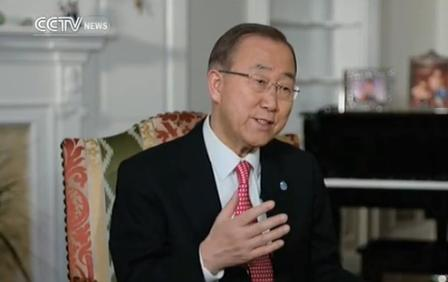 UN Secretary-General Ban Ki Moon will soon finish his second term at the end of this year. Before that, he has sat down for an exclusive interview with CCTV.