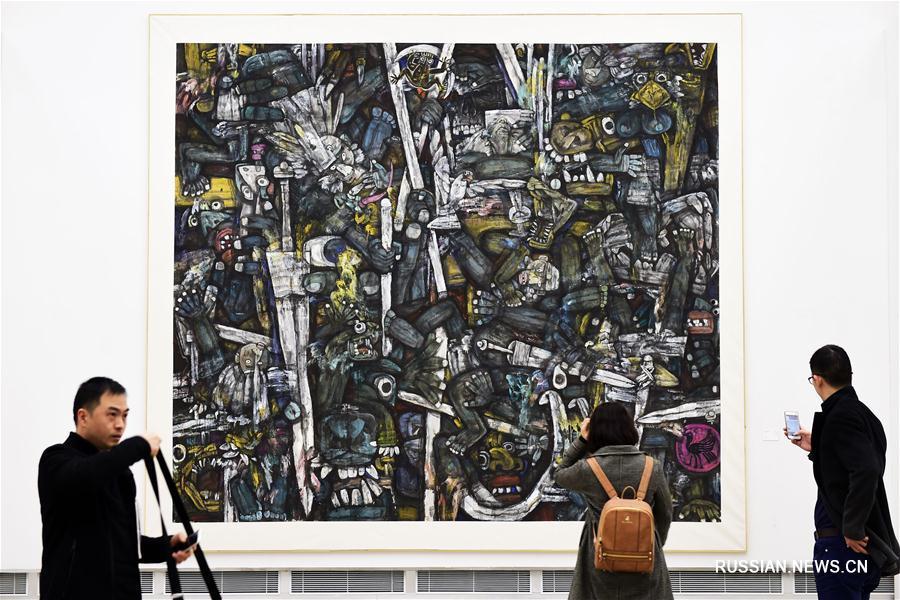 В Ханчжоу открылась биеннале китайской живописи
