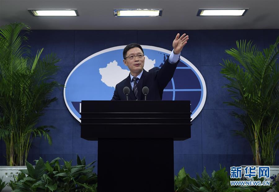Ань Фэншань, Представитель Канцелярии Госсовета КНР по делам Тайваня